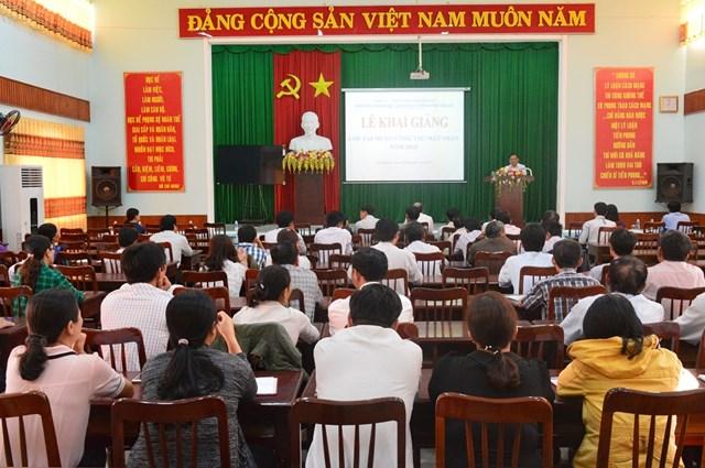 Ninh Thuận: Tập huấn công tác Mặt trận các cấp năm 2018