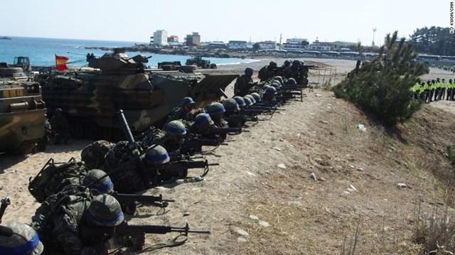 Hàn Quốc và Mỹ sắp công bố kế hoạch tập trận