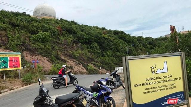 Đà Nẵng cấm đi xe máy tay ga lên Sơn Trà