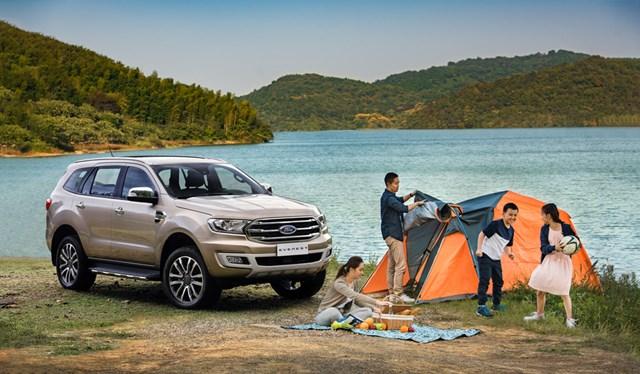 Cắm trại bằng xe ô tô - 1
