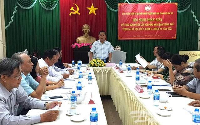Nhiều ý kiến phản biện dự thảo Nghị Quyết của HĐND trước kỳ họp thứ 9