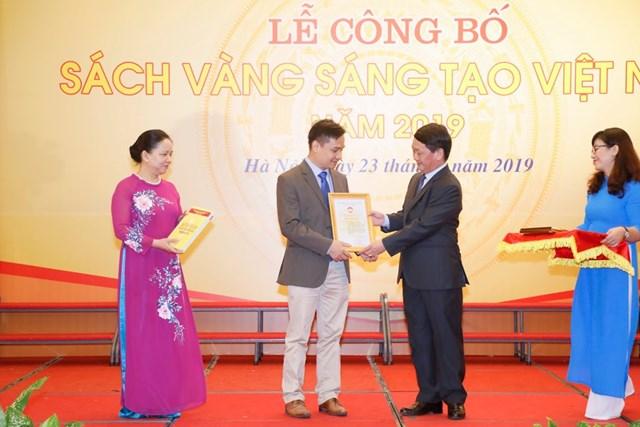 Vinh danh 74 công trình tiêu biểu trong Sách vàng Sáng tạo Việt Nam năm 2019 - 7