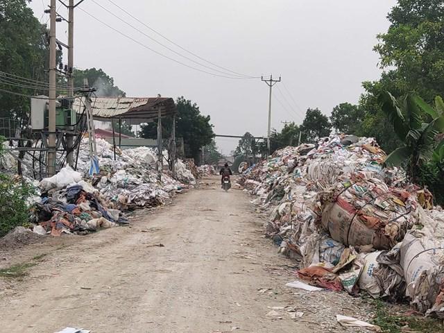 Thanh Hóa: Nhiều cơ sở tái chế bao bì gây ô nhiễm môi trường