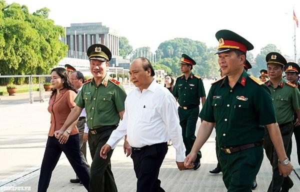 Thủ tướng kiểm tra Công trình, khu vực Lăng Chủ tịch Hồ Chí Minh - 2