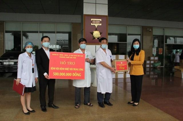 TP Hà Nội đồng hành cùng các bệnh viện trong cuộc chiến chống dịch Covid-19 - 1
