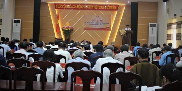 Ủy ban MTTQ Việt Nam tỉnh Quảng Nam tổ chức hội nghị lần thứ 2