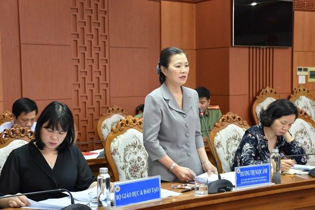 Đoàn kiểm tra Ban chỉ đạo 138 của Chính phủ làm việc tại Quảng Nam