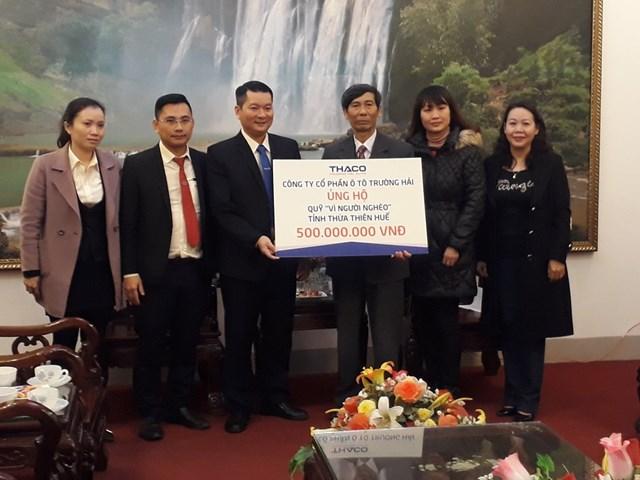 Mặt trận Thừa Thiên - Huế tiếp nhận 500 triệu đồng ủng hộ Quỹ 'Vì người nghèo'