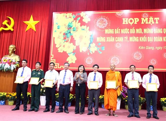 Mặt trận Kiên Giang gặp mặt nhân sĩ trí thức, chức sắc tôn giáo - 4