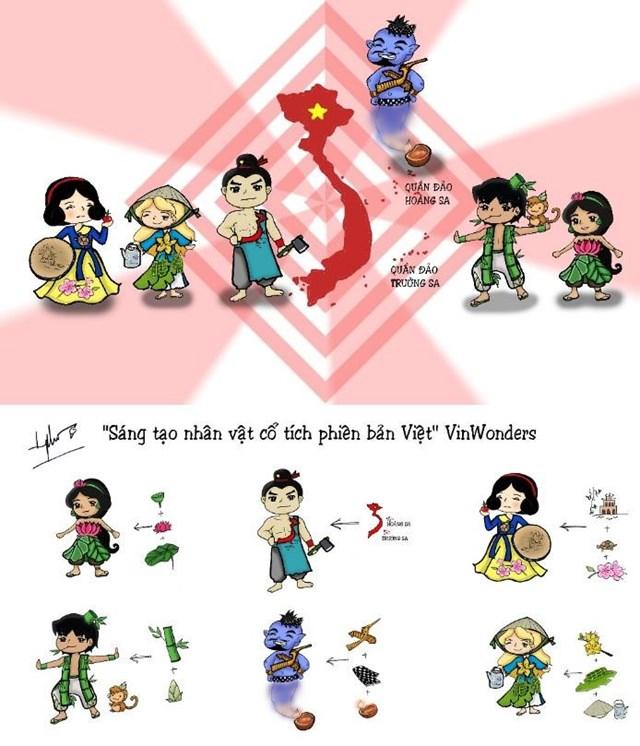 'Chất Việt' siêu ấn tượng trong 'Sáng tạo các nhân vật cổ tích' của VinWonders