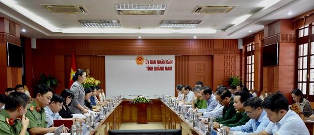Đoàn kiểm tra Ban chỉ đạo 138 của Chính phủ làm việc tại Quảng Nam - 1