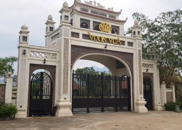 Dự án Vườn Vua (Phú Thọ): Tự ý chuyển đổi mục đích hàng trăm nghìn m2 đất