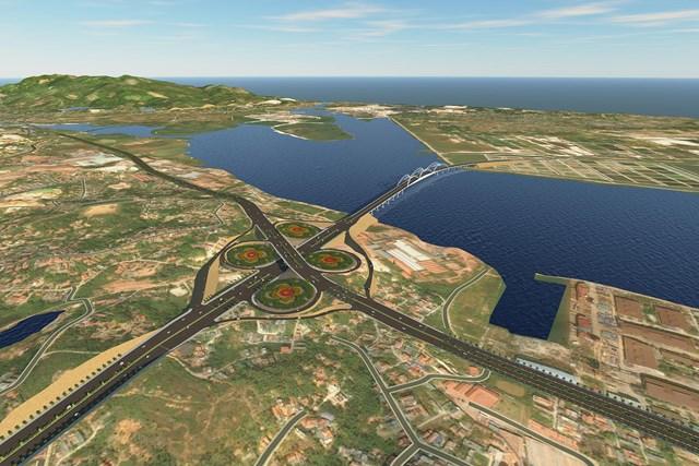 Khởi công dự án Đường nối KCN Việt Hưng đến cao tốc Hạ Long - Vân Đồn