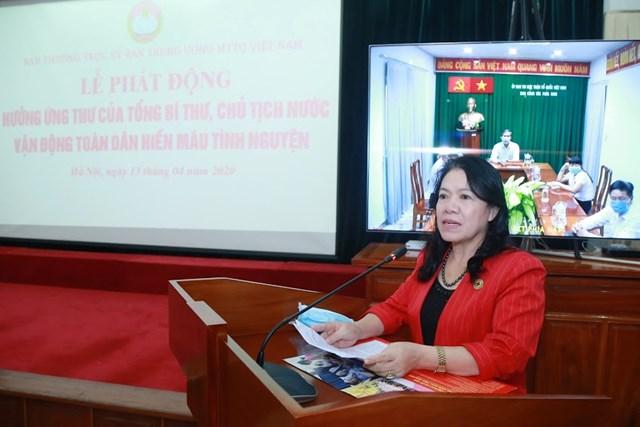 UBTƯ MTTQ Việt Nam phát động toàn dân hiến máu tình nguyện - 2