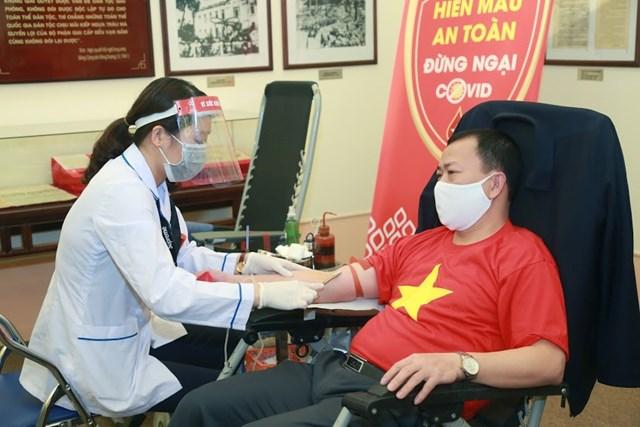 UBTƯ MTTQ Việt Nam phát động toàn dân hiến máu tình nguyện - 7