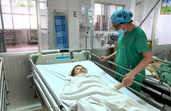 Cứu sống bệnh nhân vỡ thai ngoài tử cung