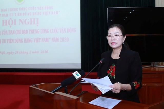 Đưa hàng Việt chiếm lĩnh thị trường trong nước và quốc tế - 1