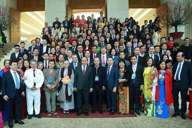 [ẢNH] Thủ tướng gặp mặt kiều bào tham dự chương trình Xuân quê hương 2020 - 9