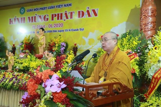 GHPG Việt Nam trọng thể tổ chức Đại lễ Phật đản Phật lịch 2564 - dương lịch 2020 - 1