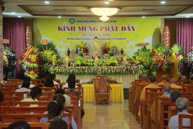 GHPG Việt Nam trọng thể tổ chức Đại lễ Phật đản Phật lịch 2564 - dương lịch 2020 - 5