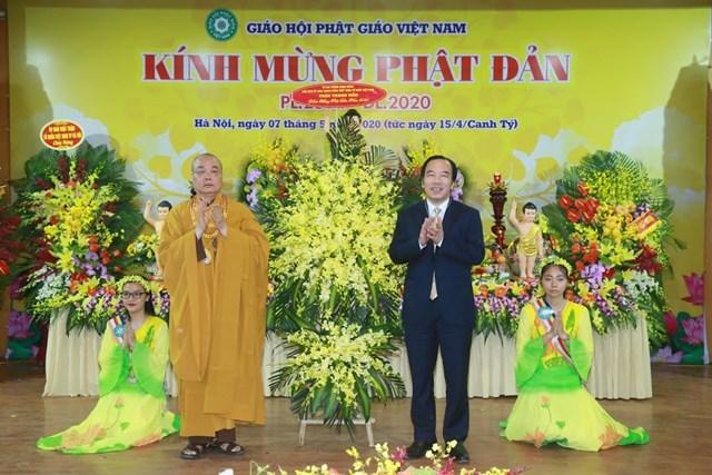 GHPG Việt Nam trọng thể tổ chức Đại lễ Phật đản Phật lịch 2564 - dương lịch 2020