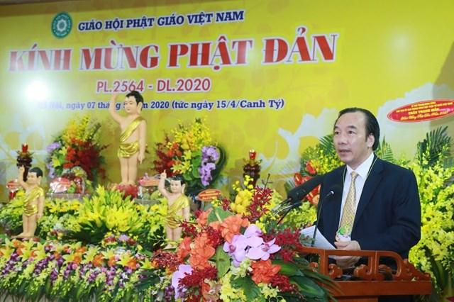 GHPG Việt Nam trọng thể tổ chức Đại lễ Phật đản Phật lịch 2564 - dương lịch 2020 - 2