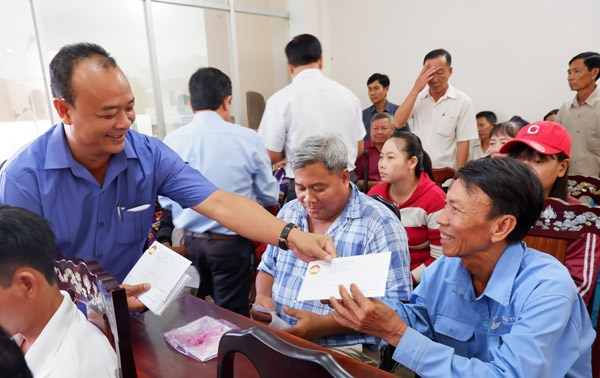 Cần Thơ: 280 phần quà Tết cho người nghèo huyện Vĩnh Thạnh - 1
