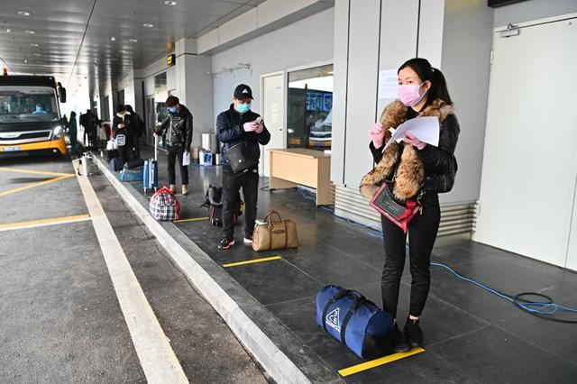 Đón chuyến bay từ vùng dịch: Sân bay Vân Đồn áp dụng quy trình mới - 2