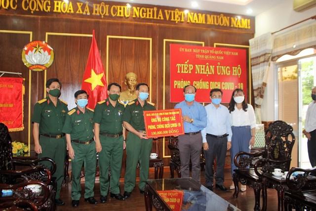 Mặt trận Quảng Nam, Quảng Ngãi phát huy tốt vai trò trong chống dịch Covid-19 - 2