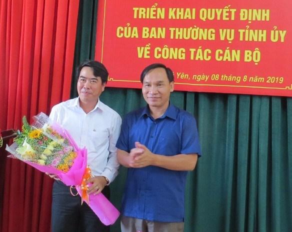 Phó Chủ tịch LĐLĐ giữ chức Phó Chủ tịch Mặt trận tỉnh Phú Yên