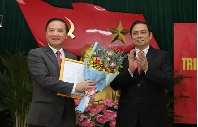 Chủ nhiệm Ủy ban Pháp luật của Quốc hội Nguyễn Khắc Định được phân công làm Bí thư Tỉnh ủy Khánh Hòa