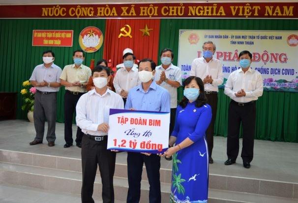 Ninh Thuận: Gần 9 tỷ đồng ủng hộ phòng, chống dịch Covid-19