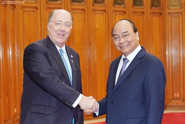 Thủ tướng nói với đoàn DN Hoa Kỳ về yếu tố thành công của Việt Nam