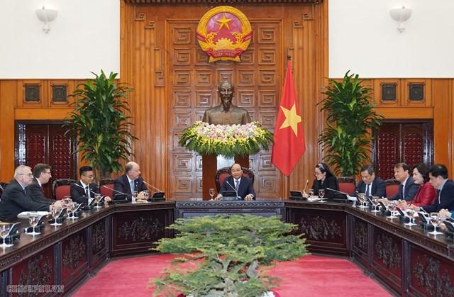 Thủ tướng nói với đoàn DN Hoa Kỳ về yếu tố thành công của Việt Nam - 1