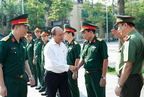 Thủ tướng kiểm tra Công trình, khu vực Lăng Chủ tịch Hồ Chí Minh - 1
