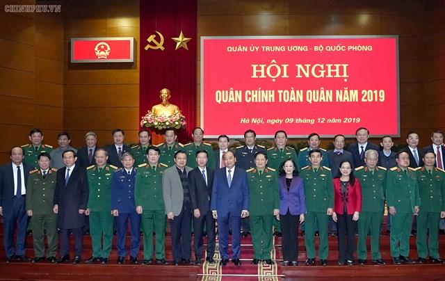 Thủ tướng dự Hội nghị quân chính toàn quân 2019 - 1