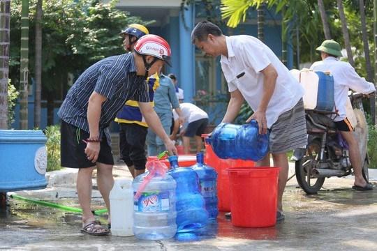 UBND TP Hà Nội: Nguồn nước sạch sông Đà có thể dùng để tắm giặt