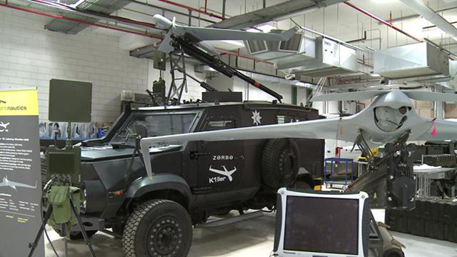 Israel giới thiệu UAV mới nhất ở triển lãm hàng không lớn nhất châu Á - 1