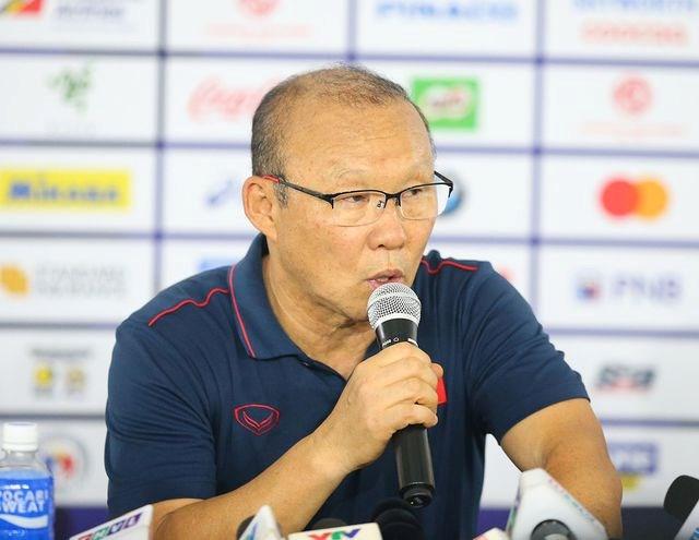 HLV Park Hang Seo: 'Các cầu thủ đã chiến đấu với tinh thần Việt Nam'