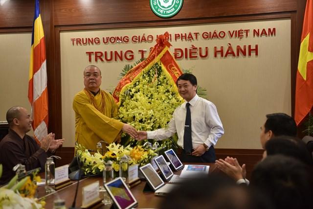 Khai trương Trung tâm điều hành điện tử Giáo hội Phật giáo Việt Nam - 2