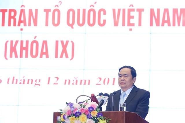 BẢN TIN MẶT TRẬN: Bế mạc Hội nghị UBTƯ MTTQ Việt Nam lần thứ hai, khóa IX