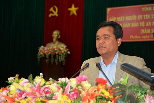 Gia Lai: Phát huy vai trò nòng cốt trong phong trào bảo vệ ANTQ