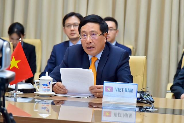Phó Thủ tướng Phạm Bình Minh: Quyết tâm bảo vệ độc lập, chủ quyền, toàn vẹn lãnh thổ sẽ chiến thắng mọi hành vi đối đầu