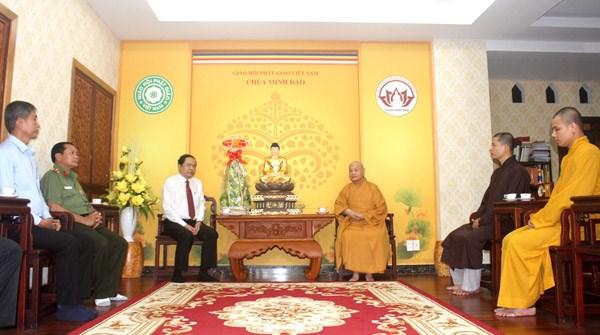 Phật tử cả nước luôn gắn bó, đồng hành trong khối đại đoàn kết toàn dân tộc
