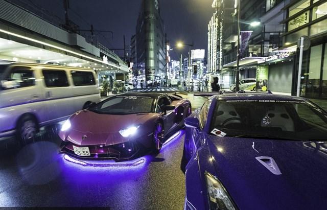 'Săn' siêu xe về đêm ở Tokyo - một góc khác của người Nhật - 2