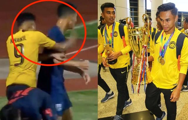 Đội trưởng U15 Malaysia giải thích lý do đấm ngôi sao U15 Thái Lan