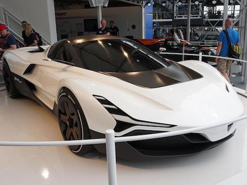 Siêu xe đầu tiên của Ấn Độ ra mắt