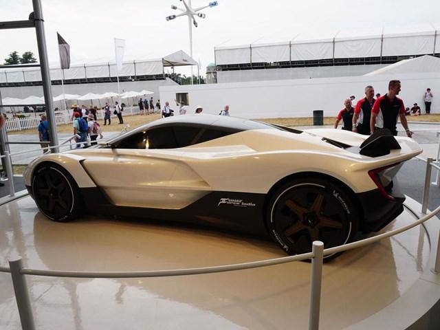 Siêu xe đầu tiên của Ấn Độ ra mắt - 3