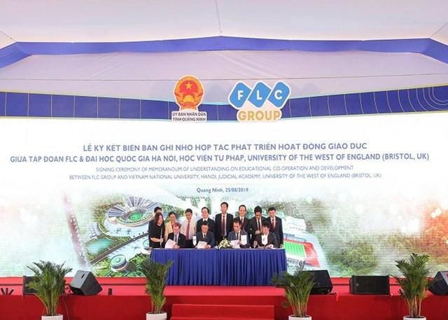 Tập đoàn FLC khởi công Đô thị Đại học quy mô hơn 700 ha tại Quảng Ninh - 6