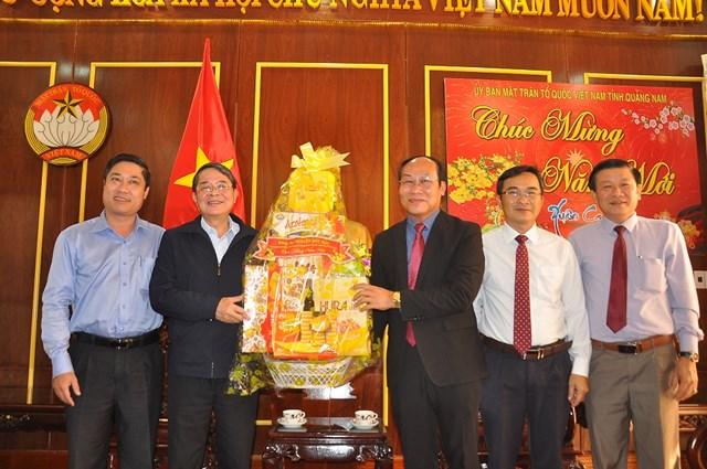 BẢN TIN MẶT TRẬN: Chủ nhiệm Ủy ban Tài chính - Ngân sách Quốc hội Nguyễn Đức Hải thăm và chúc Tết Mặt trận Quảng Nam